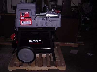 Ridgid 535 A Autochucking Pipe Threader 1822 811a Die Head Thread 4-6 W141 161