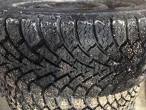"Winter tire on rim "" like New"" (255/55R17)"