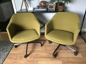 Vintage 1960s office chairs.