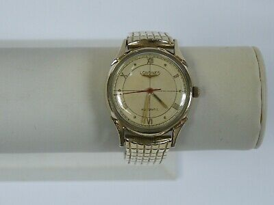 VINTAGE LONGINES 19AS 17J AUTOMATIC 10K GOLD FILLED WRIST WATCH