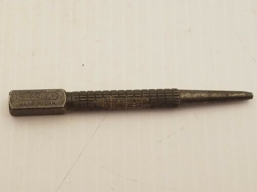 Vintage Stanley Nail Punch No.11 3/4 3/32 Square Head Alloy