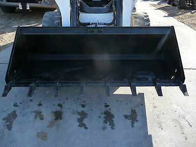 Bobcat Cat Gehl Skid Steer Attachment 72 Low Profile Tooth Bucket - Ship 149