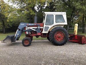 766 International tractor