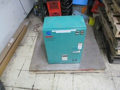 Onan Ot 125 Automatic Transfer Switch 306-3487-06 125a 120208v 5060hz 3ph Used