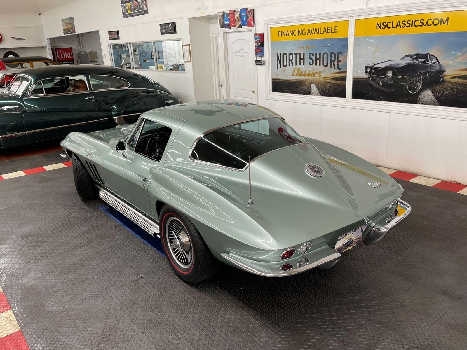 1966 Green Chevrolet Corvette Coupe  | C2 Corvette Photo 3