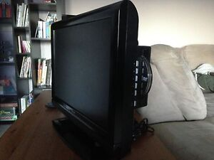"24"" LCD TV with built in DVD player"