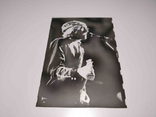 RARE VINTAGE PHOTO NEGATIVE TEST COLOR PROOF BOB DYLAN FROM ROGUE MAGAZINE