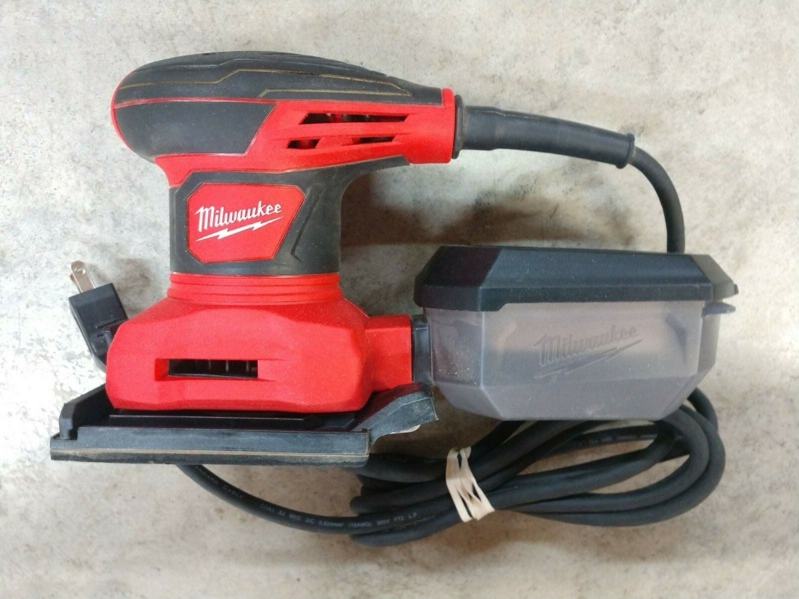 "Milwaukee 1/4"" Sheet Palm Sander Model# 6033-21"