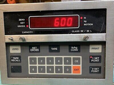 Used Umc600 Scale Indicator Stainless Steel Case