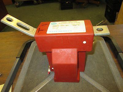 Allen-bradley Current Transformer 80025-159-09 Ratio 100-5 60 Kv Bil Used