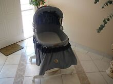 Baby cot with mattress & bassinet Cecil Hills Liverpool Area Preview