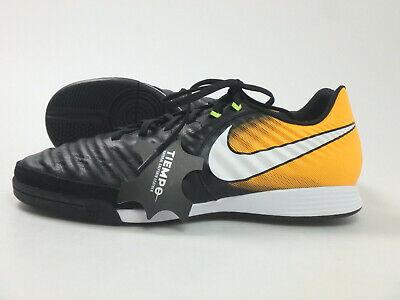 Nike #31526 TiempoX Ligera IV IC Fußball Indoor Schuhe Herren Gr. 43 Schwarz