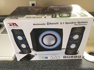 Bluetooth 2.1 speaker system avec subwoofer , cyber acoustics