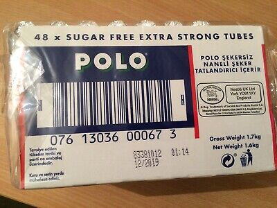 Nestle Polo Sugar Free Extra Strong x 48 x 33.4 g ( To Clear Best Before 12/2019