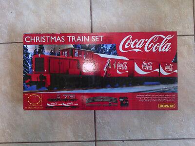 Hornby Railways Coca-Cola Santa Christmas Train Set OO R1233 US 2019 Brand New