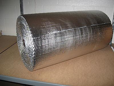 316 Double Foil Bubble Insulation Reflective Wrap - 24 X 125