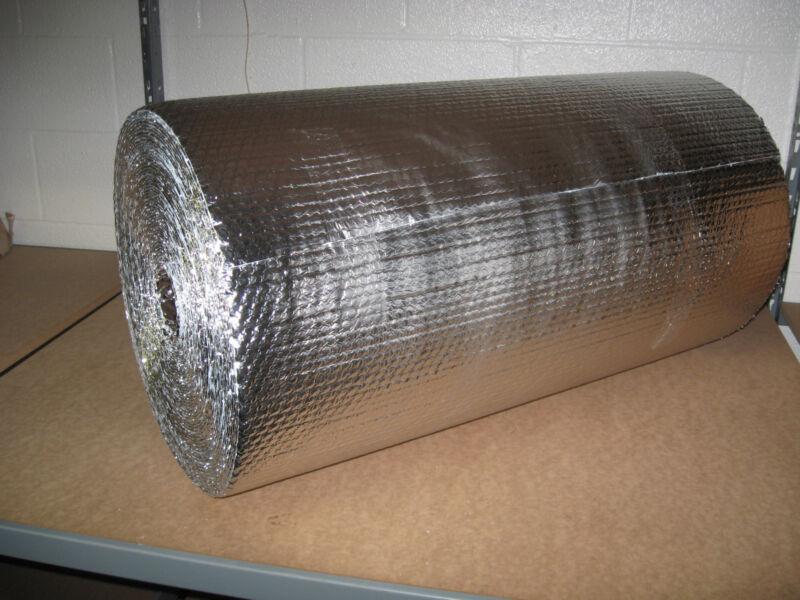 """3/16"""" Double Foil Bubble Insulation Reflective Wrap - 24"""" X 125"""