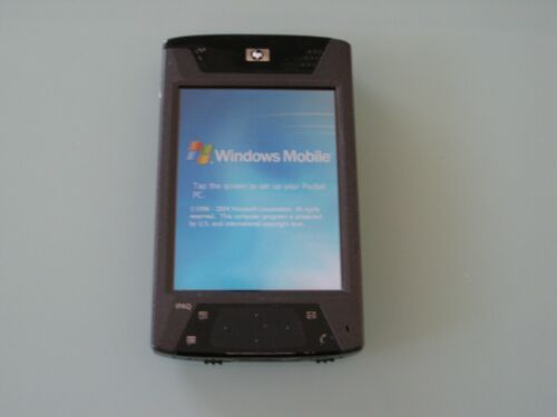 HP IPAQ HX4700 HX4705 POCKET PC PDA WINDOWS MOBILE BLUETOOTH WIFI + 1 YEAR WRNTY
