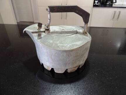 Old Collectable kettle, interesting shape @Maitland