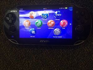 PS vita great condition with 2 games and 2 memory cards