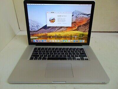 "Apple MacBook Pro Laptop - 2.53 GHz i5 4GB 128GB 17"" A1297 MC024LL/A 6,1 CC682"