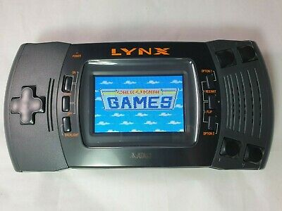 Atari Lynx 2 Handheld Console (Mcwill LCD)