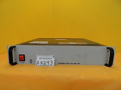 Glassman Pser06n25.0yz4 6kv Power Supply Amat 9090-00473itl Used Working