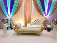 *****Loveseat, chairs, rentals, couch, backdrop, theme decor