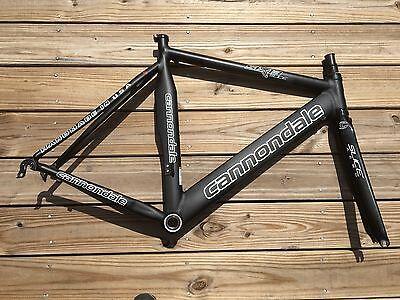56cm Cannondale Six13 Aero Slice TT/Tri Carbon/Aluminum Frame/Fork Frameset