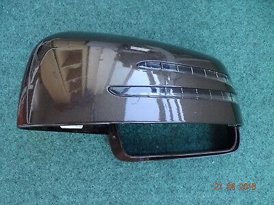 Mercedes-Benz - W251/W164/W166 Außenspiegelkappe links A1668200121 Citrin Brown