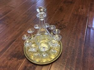 Crystal Liquer Glass & Decanter