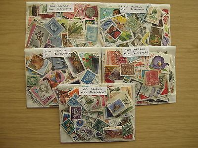 STAMP CLEARANCE 500 WORLD STAMPS, OFF PAPER,PREPACKED, ONLY £3.95