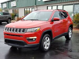 2018 Jeep Compass North 4X4/LEATHER/REMOTE START/HEATED SEATS...