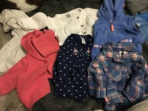 Girls 0-6 month clothing lot - $35 obo