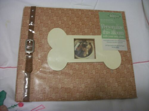 "Kurie ""Top Dog"" Photo Album Expandable Scrapbook"
