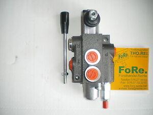 Steuerventil Hydraulikventil 50 l 1-fach Holzspalter Hydraulik Steuergerät