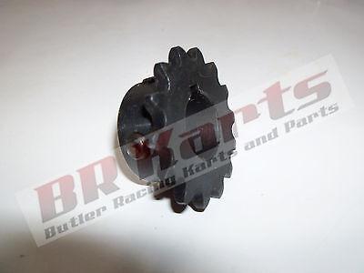 "10T Tooth #40/41 Sprocket Gear with 3/4"" Bore for Jackshaft Mini Bike Go Kart"