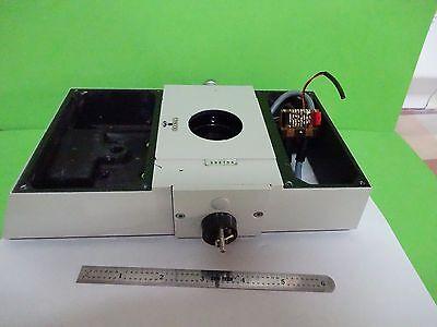 Microscope Part Polyvar Reichert Leica Top Confocal Optics As Is Binw2-03
