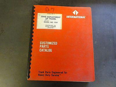International Model 1954 Customized Parts Catalog