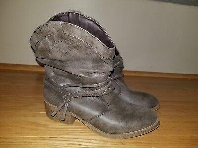 Girls MUDD Western Cowboy/Cowgirl Boots Size 5