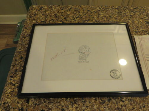Peanuts Snoopy  Production Animation Drawing Charles Schultz Peppermint Patty