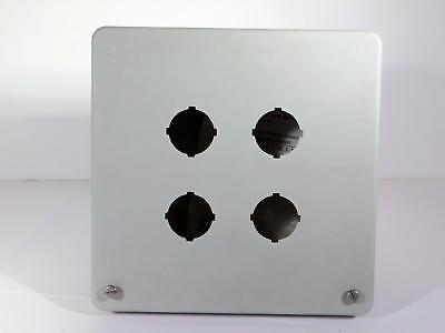 Hammond Pushbutton Pj664hp4 Non Metallic Hinged Enclosure Screw Cover Nos Nib
