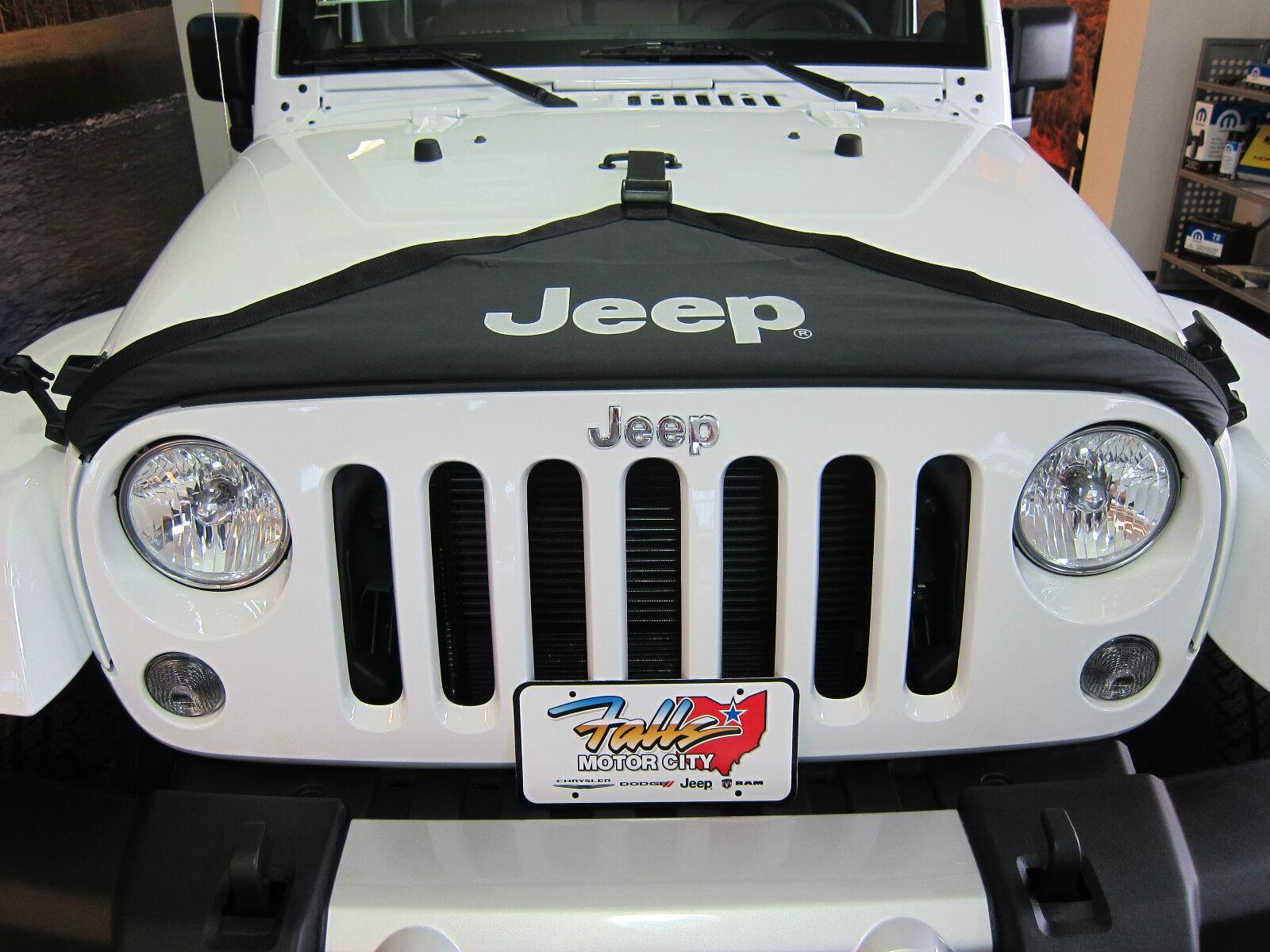 2007-2018 Jeep Wrangler JK Hood Cover Front End Bra Protector Kit ...