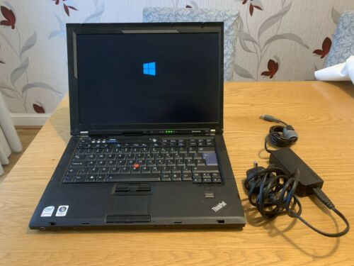 Laptop Windows - Lenovo T61 Laptop PC Intel Core Duo T7100 320GB Hdd Windows 10 Needs Activation