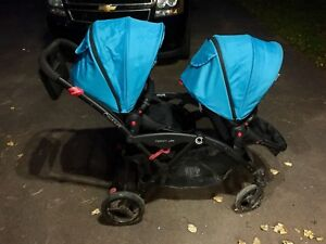 Double Stroller Contour Options Elite