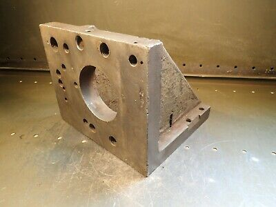 8-78 X 8-18 X 10 W Cast Iron Right Angle Mill Milling Set-up Fixture Plate