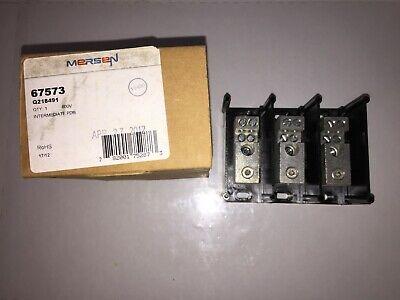 Ferraz Shawmut 67573 PDB 3-Pole 600V Power Distribution Block  Ferraz Shawmut Power Distribution Blocks