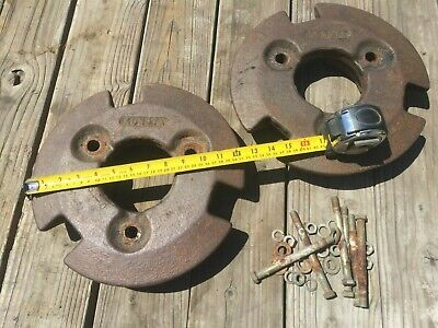 Kubota 8054-0 12 Front Wheel Weights 41 Lbs Each With Bolts B6000 B6100 B7100
