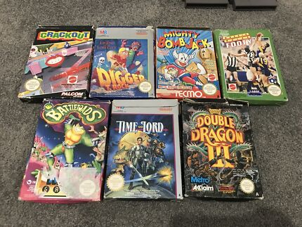 Assorted Nintendo NES Boxed Games