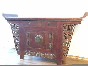 Chinese sideboard with character North Adelaide Adelaide City Preview